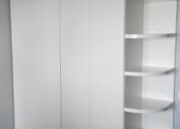 Шкаф гармошка белый - 5