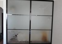 Шкаф купе матовое стекло - 24
