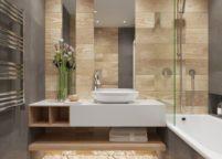 мебель в ванную - 86