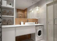 мебель в ванную - 119