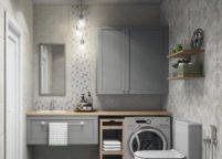 мебель в ванную - 116