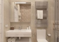 мебель в ванную - 115