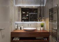 мебель в ванную - 66