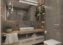 мебель в ванную - 114