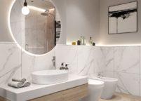 мебель в ванную - 35