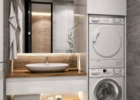 мебель в ванную - 105
