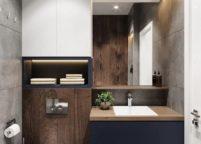 мебель в ванную - 107