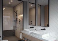 мебель в ванную - 67