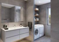 мебель в ванную - 113
