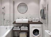 мебель в ванную - 112