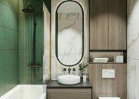 мебель в ванную - 76