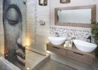 мебель в ванную - 110