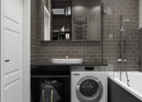 мебель в ванную - 123
