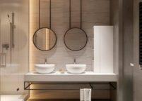 мебель в ванную - 34