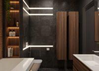 мебель в ванную - 40