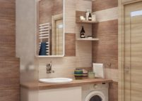 мебель в ванную - 122