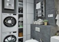 мебель в ванную - 108