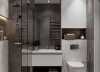 мебель в ванную - 83