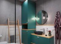 мебель в ванную - 36