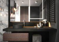 мебель в ванную - 58
