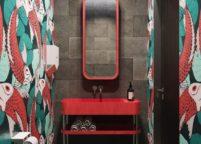 мебель в ванную - 78