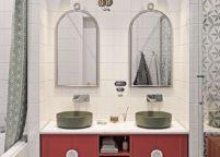мебель в ванную - 98