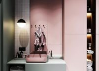 мебель в ванную - 74