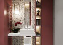 мебель в ванную - 80