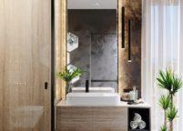 мебель в ванную - 65