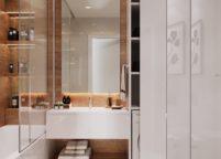 мебель в ванную - 89