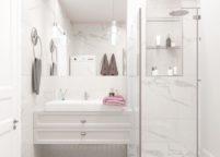 мебель в ванную - 96