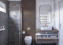 мебель в ванную - 111