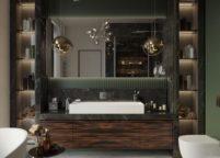 мебель в ванную - 47