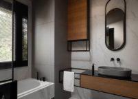 мебель в ванную - 45