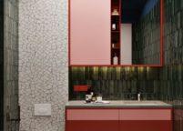 мебель в ванную - 100