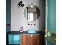 мебель в ванную - 91